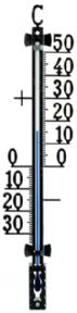 12.5001 Indoor or outdoor thermometer